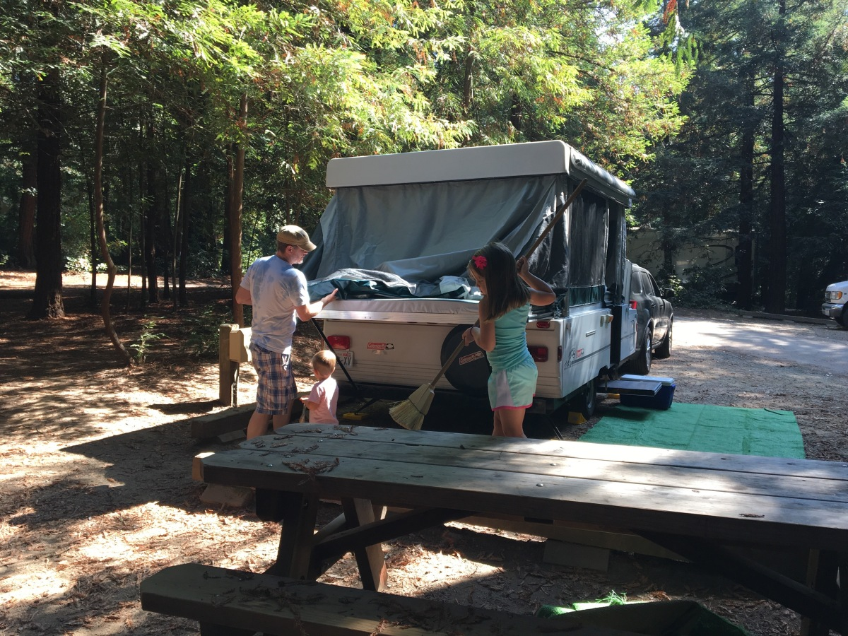 Teaching the Kids to Camp (or Learning to Teach by Example) and Hobo Dinners