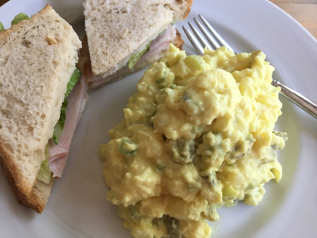 Homesick, and My Mom's Potato Salad