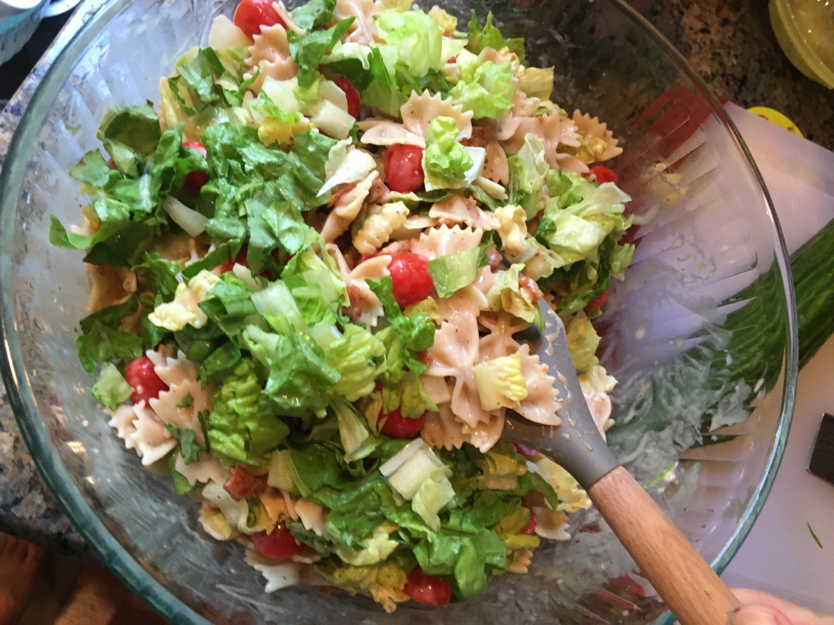 Just One More Day, and BLT Pasta Salad